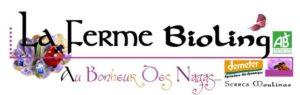 Logo La Ferme biolilng plants bio Demeter Variétés anciennes