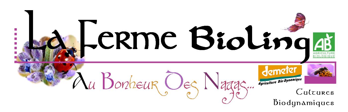 Logo La Ferme BioLing - Plants bio Plants Demeter Variétés anciennes