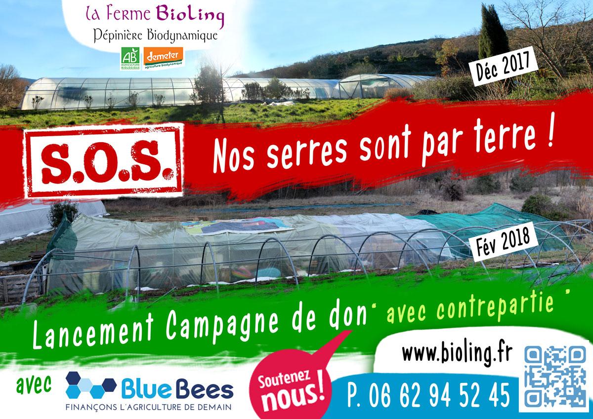 SOS Nos serres sont par terre construire une serre la ferme bioling
